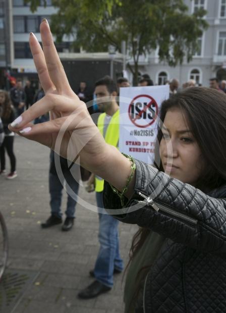 Demonstratie Koerden