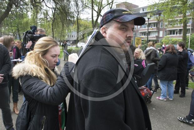 Pro Wilders protest