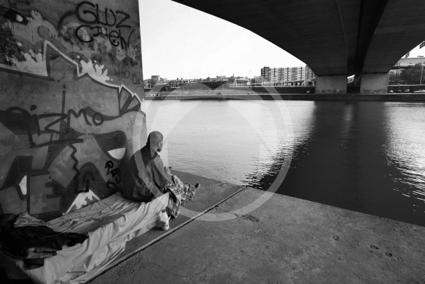 Dakloos in Arnhem.